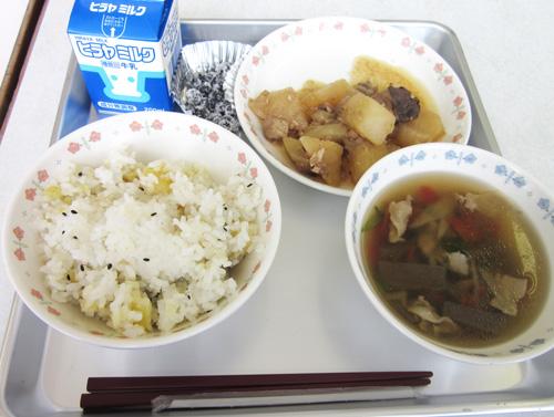 京丹後 食育の日 京野菜づくし